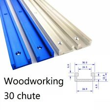 1000mm Aluminium T-Track T-Slot Miter Jig Fixture Tool Woodworker Router Table