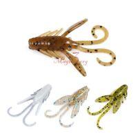 """Yoshikawa Soft Crawbaby Lures 1.5"""" Plastic Micro Nymph Creature Fishing Baits"""