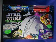 Star Wars 1993 The Death Star Playset – MIMP – Micro Machines - Galoob