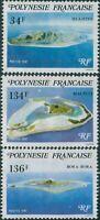 French Polynesia 1981 Sc#352-354,SG353-355 Polynesian Islands set MNH