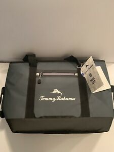 New Tommy Bahama Sport Tote Insulated Cooler Holds 30 Cans 4 Strap Zipper Marlin