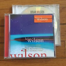 Brian Wilson - Your Imagination, Imagination Words + Music PROMO Copy 2xCD LOT.