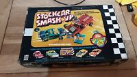 Denys Fishers Stock Car Smash Up Set with two cars Boxed not complete