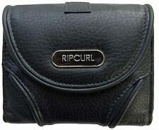 Rip Curl TEX MID LEATHER WALLET Womens Wallet Purse New - LWLAW1 Black