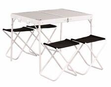 Easy Camp PROVENZA tavolo e sgabelli Campeggio E Giardino Picnic Panca con 4 SEDIE