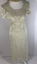 Vintage Jessica Howard Gold Evening Gown