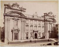 Alinari Chiesa di San Firenze Foto originale all' albumina 1880c Florence L884