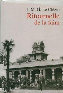 Livre ritournelle de la faim J. M. G. Le Clézio Gallimard le grand livre du mois