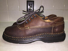 Born B6462 Brown Leather Lace up Oxford Casual Shoes Women's US 8M NEW W/O BOX!