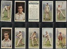 Sport: Cricket Original Collectable Will's Cigarette Cards