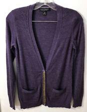 Banana Republic Sweater Size S Merino Wool Cardigan Button Snap Front