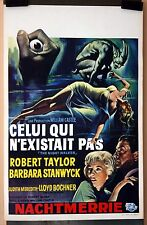 B Stanwyck : R Taylor : The Night Walker : POSTER