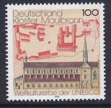 Germany 1987 MNH 1998 Cistercian Monastery Maulbronn - UNESCO Issue VF