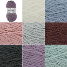 King Cole Timeless Chunky Soft Yarn Knitting Wool 100g Ball Alpaca Acrylic Mix