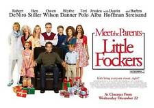 LITTLE FOCKERS Movie POSTER 30x40 UK Robert De Niro Jessica Alba Ben Stiller