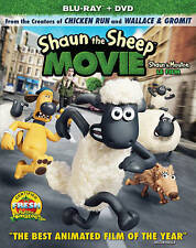 Shaun the Sheep Movie (Blu-ray/DVD, 2015, 2-Disc, Canadian, FRENCH INCL.)
