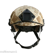 OPS/UR-TACTICAL HELMET COVER FOR OPS-CORE FAST HELMET IN PENCOTT SANDSTORM-L/XL