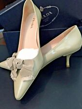 fc77c70ac52 NEW PRADA Taffetas Classic Corda Women Size 39 (US 9)Patent Leather Pumps w