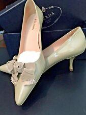 4b1ac090144 NEW PRADA Taffetas Classic Corda Women Size 39 (US 9)Patent Leather Pumps w