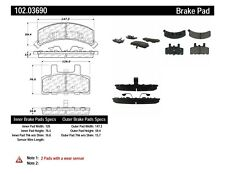 Disc Brake Pad Set-4WD Front Centric 102.03690