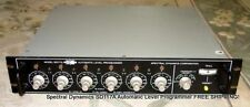Spectral Dynamics SD117A Automatic Level Programmer FREE SHIPPING!