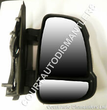NEW Citroen Relay Door Mirror short arm with indicator MANUAL 06-  DRIVERS SIDE