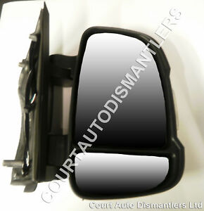 NEW Citroen Relay Door Mirror short arm with indicator MANUAL 06-  DRIVERS SIDE