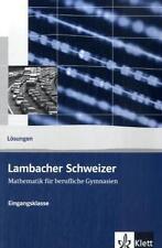 Deutsche Schulbücher mit Mathematik-Thema für das Abitur