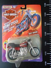 Matchbox Harley Davidson FXR Stunt Cycle Red Low Rider Hasbro