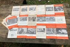 34 Issues—Vintage 1930's VOLUNTEER FIREMEN Journal Magazine