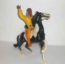New ListingVintage Hartland Western Cochise Figure Semi Rearing Pinto Horse 1950s Toy 800