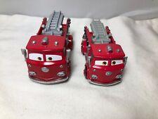 Disney Pixar Cars, 2 Red Fire Engines