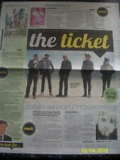 THE TICKET TEENAGE FANCLUB September 16 2016 Daily Record