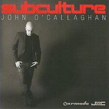 Subculture by John O'Callaghan (CD, Nov-2009, 2 Discs, Armada)