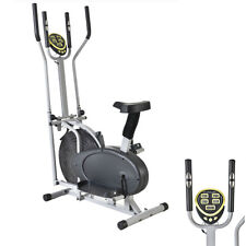 Bike Elliptical Exercise Trainer Fitness Machine Gym Workout Indoor Home Body