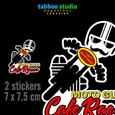 Stickers Motorbike Cafe Racer Moto Guzzi Vintage Scrambler Bobber Pegatinas