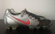 Mens Nike Total 90 Strike II FG Metallic Silver Football Boots (2009) - UK 9
