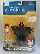 Kairi with Maleficent Kingdom Hearts Action Figures Series 1 #76003 Disney NIB