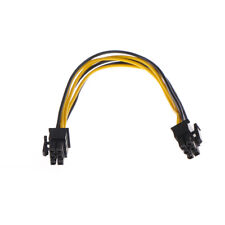 New listing Mini-Pcie 6 Pin G5 to Pci-Express 6 Pin Video Card Cable Adapter T`Us