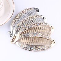 Hair Accessories Crystal Hair Clip Banana Clip Headwear Ponytail Hairpin