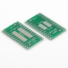 SOP28 SSOP28 SO28 SOIC28 zu DIP Adapter Platine PCB Pitch 0.65mm / 1.27mm