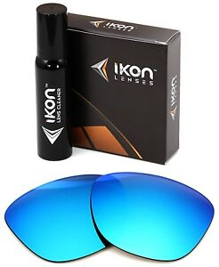 Polarized IKON Iridium Replacement Lenses For Oakley Frogskins Ice Blue