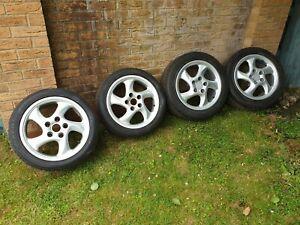 "Porsche Style 17"" Cup 3 Alloy Wheels"