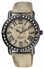 Q&Q by Citizen DA93J505Y ATTRACTIVE Crystal Accented Women's Watch ~ GREAT GIFT