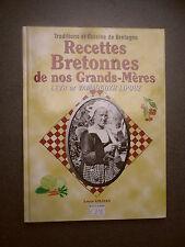 RECETTES BRETONNES DE NOS GRANDS MERES LOUIS GILDAS GASTRONOMIE BRETAGNE