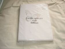 NEW LAURA ASHLEY BUTTERFLIES EMBROIDERED SILVER SINGLE DUVET COVER