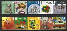 GREAT BRITAIN 2017 CLASSIC TOYS  SET OF 10 IN 2 STRIPS UNMOUNTED MINT, MNH