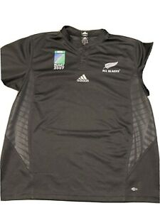 Rugby World Cup All Blacks Jersey 2007 Size XL