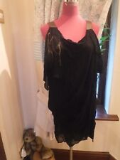 Stunning  All Saints Macavity Top / Dress Size 6 (8) Excellent Condition