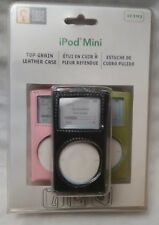 NEW Case Logic Mini iPod Click Wheel Case Top Grain Leather Set of 3 Brand New